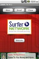 Screenshot of KBBN FM 95.3
