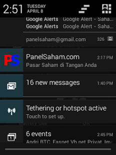 PanelSaham- screenshot thumbnail
