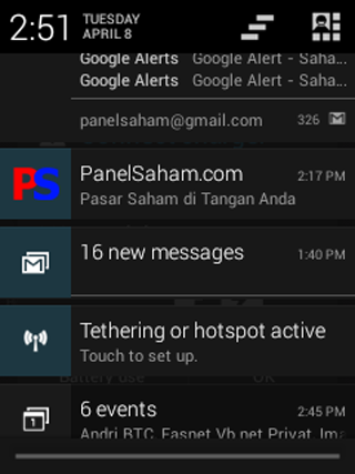 PanelSaham- screenshot