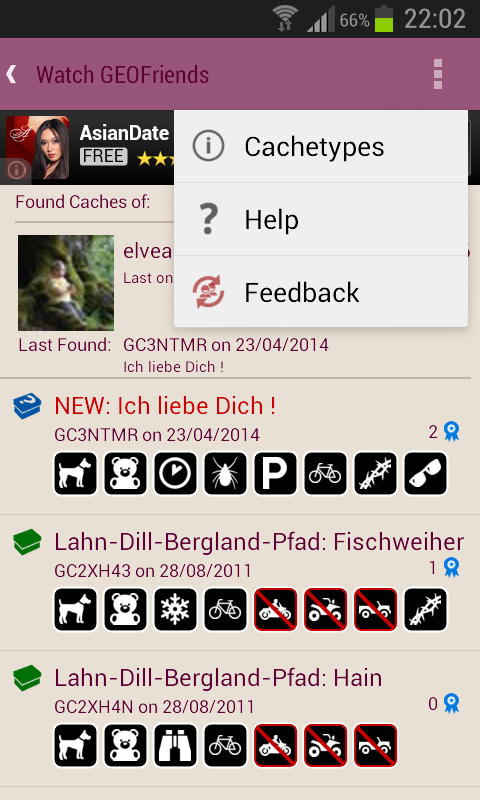 Watch GEOFriends 4 Geocaching- screenshot