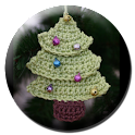 Crochet Tree and Wreath logo