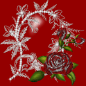 Rose Diamonds Live Wallpaper icon