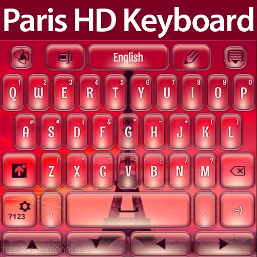 巴黎高清键盘 娛樂 LOGO-玩APPs