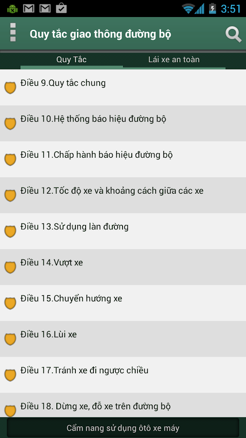 Luat Giao Thong - screenshot