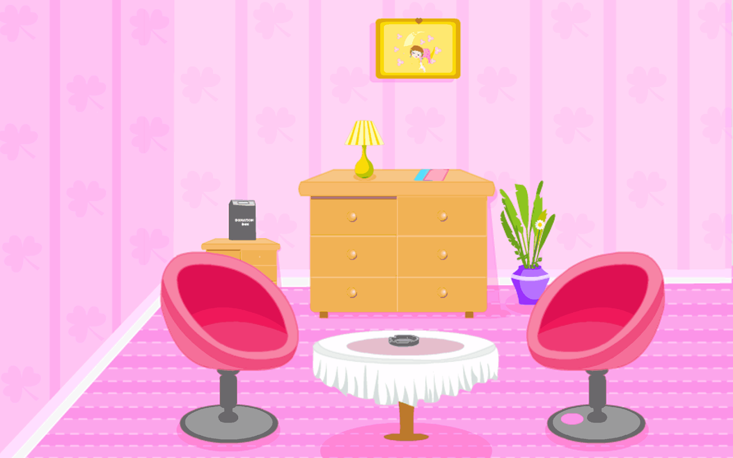 Escape Pink Foyer Room - screenshot