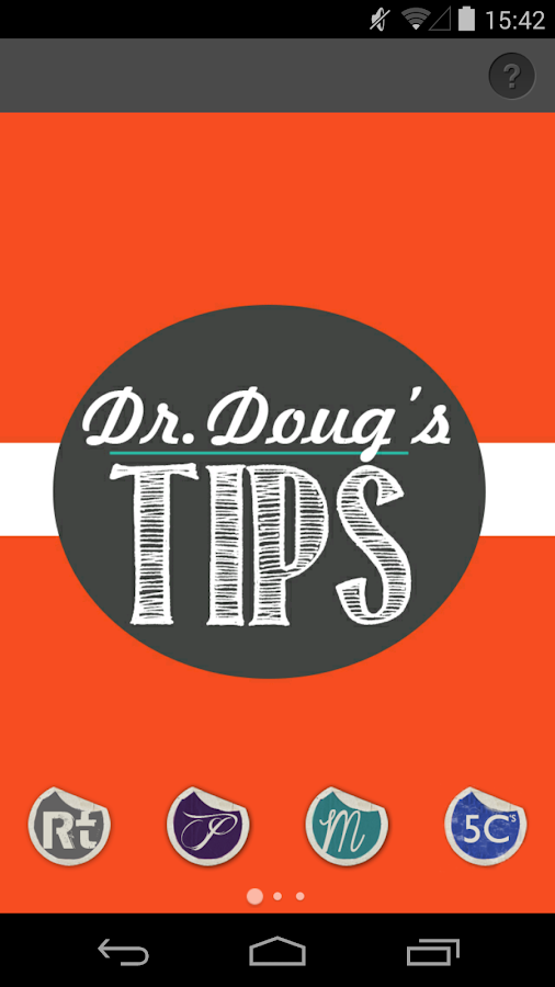 Dr. Doug's Tips- screenshot