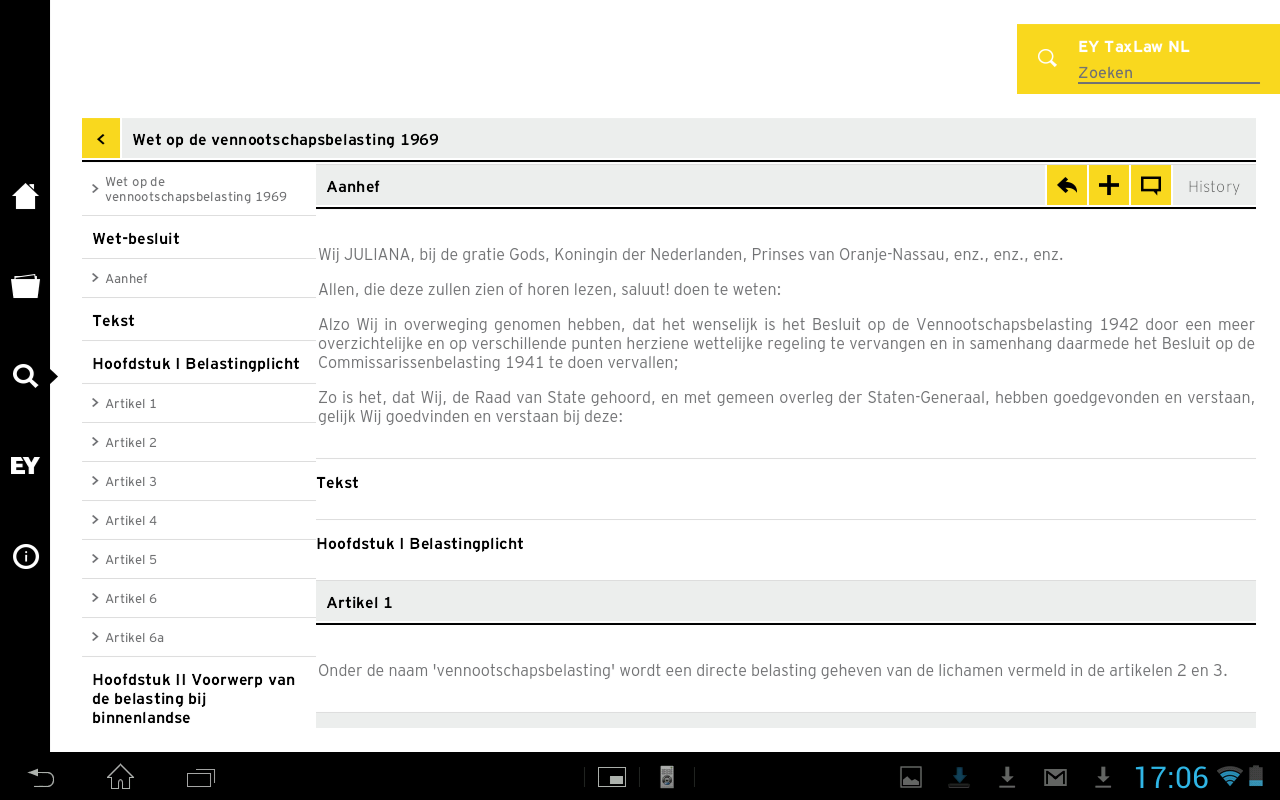 EY TaxLaw NL- screenshot