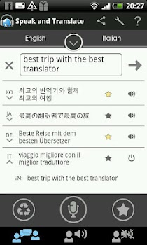 Translator Speak and Translate