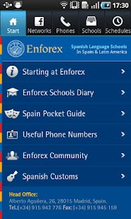 Enforex Spain Pocket Guide- screenshot thumbnail