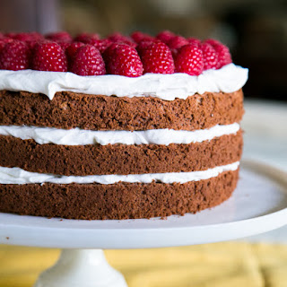 Chocolate Layer Cake with Creme Chantilly Frosting