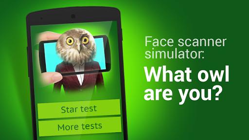 扫描仪面:什么猫头鹰