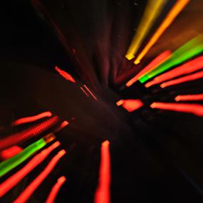 by Gav Wyatt - Abstract Light Painting