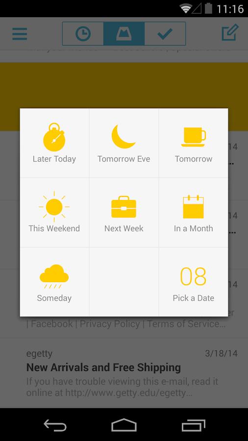 Mailbox - screenshot