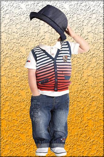 Boy Fashion Suit Photo