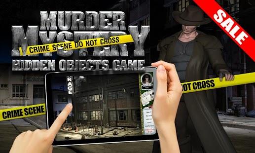 Murder Mystery Hidden Objects - screenshot thumbnail