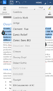 OfficeSuite Font Pack - screenshot thumbnail