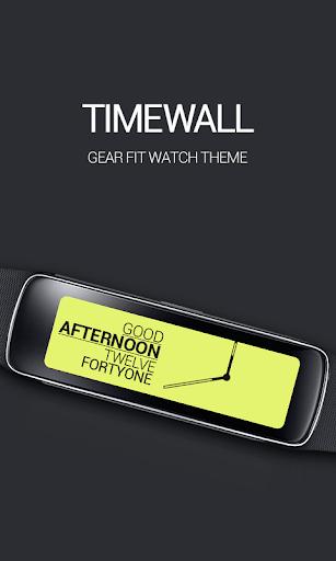Timewall Clock