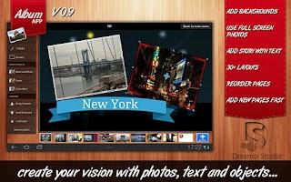 Screenshot of Album App HD