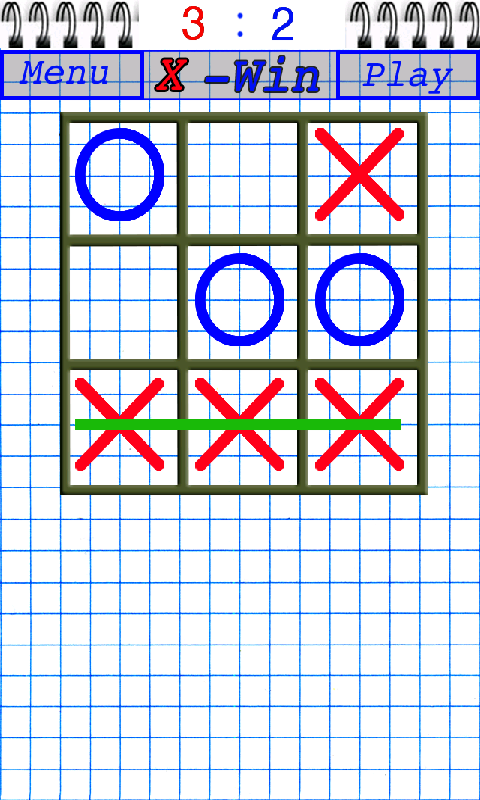 Gomoku  (Tic Tac Toe)- screenshot