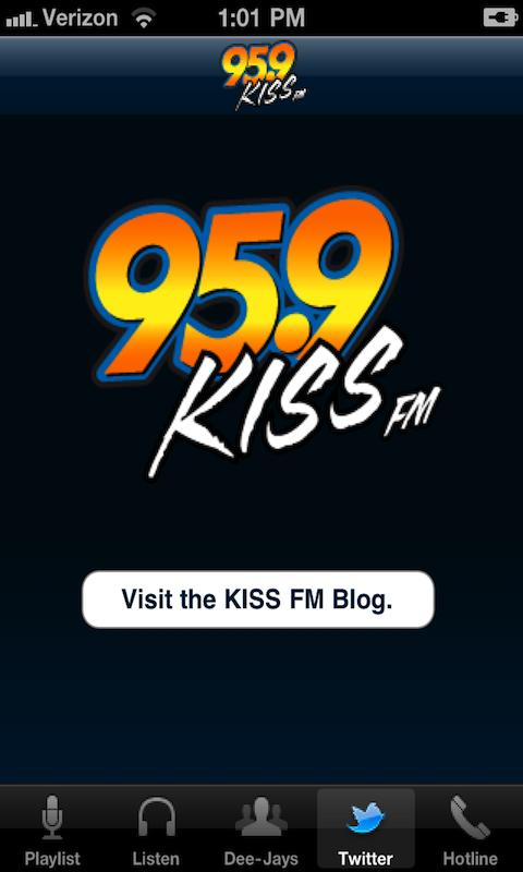95.9 Kiss FM - screenshot
