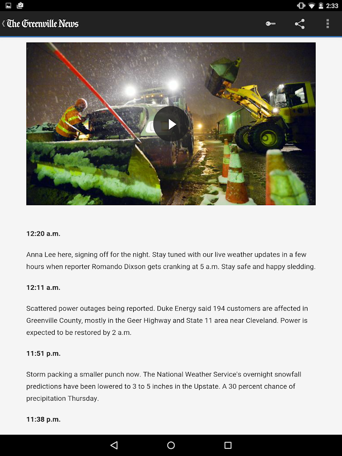The Greenville News - screenshot