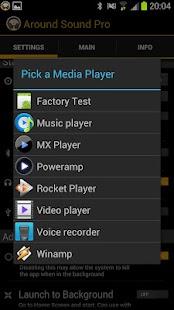 برنامه شنیدن صدای اطراف Around Sound Pro v2.61