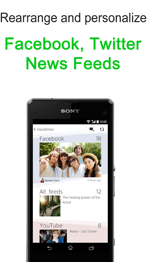 News by Sony: Socialife News - screenshot