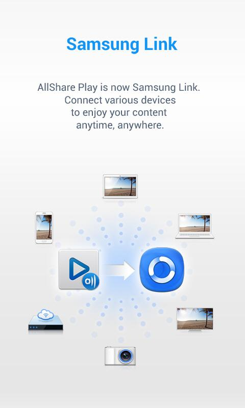 Samsung Link (AllShare Play) - screenshot
