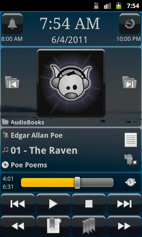 MortPlayer Audio Books - screenshot