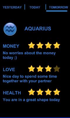 Todays Horoscope - screenshot