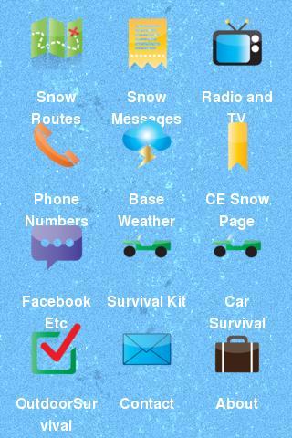 USAFA Snow