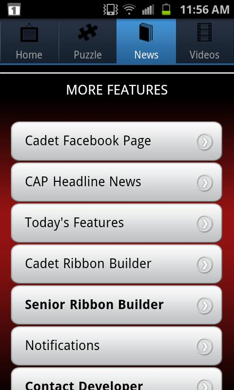 Civil Air Patrol for Android - screenshot