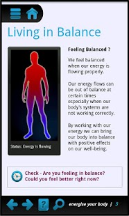 Energise - a body energy boost - screenshot thumbnail