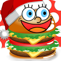 Yummy Burger Christmas Free icon