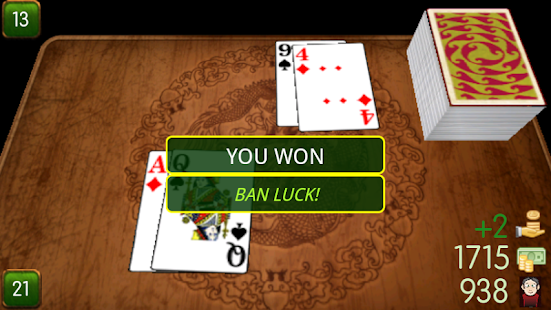 Ban Luck 3D Chinese blackjack - screenshot thumbnail