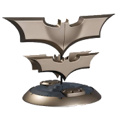 Bat Shaped Boomerangs
