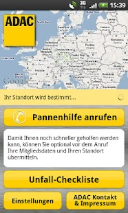 ADAC Pannenhilfe - screenshot thumbnail