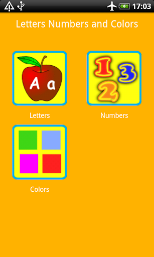 ABC Numbers Colors for Kids