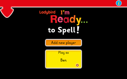 Ladybird: I'm Ready to Spell!- screenshot thumbnail