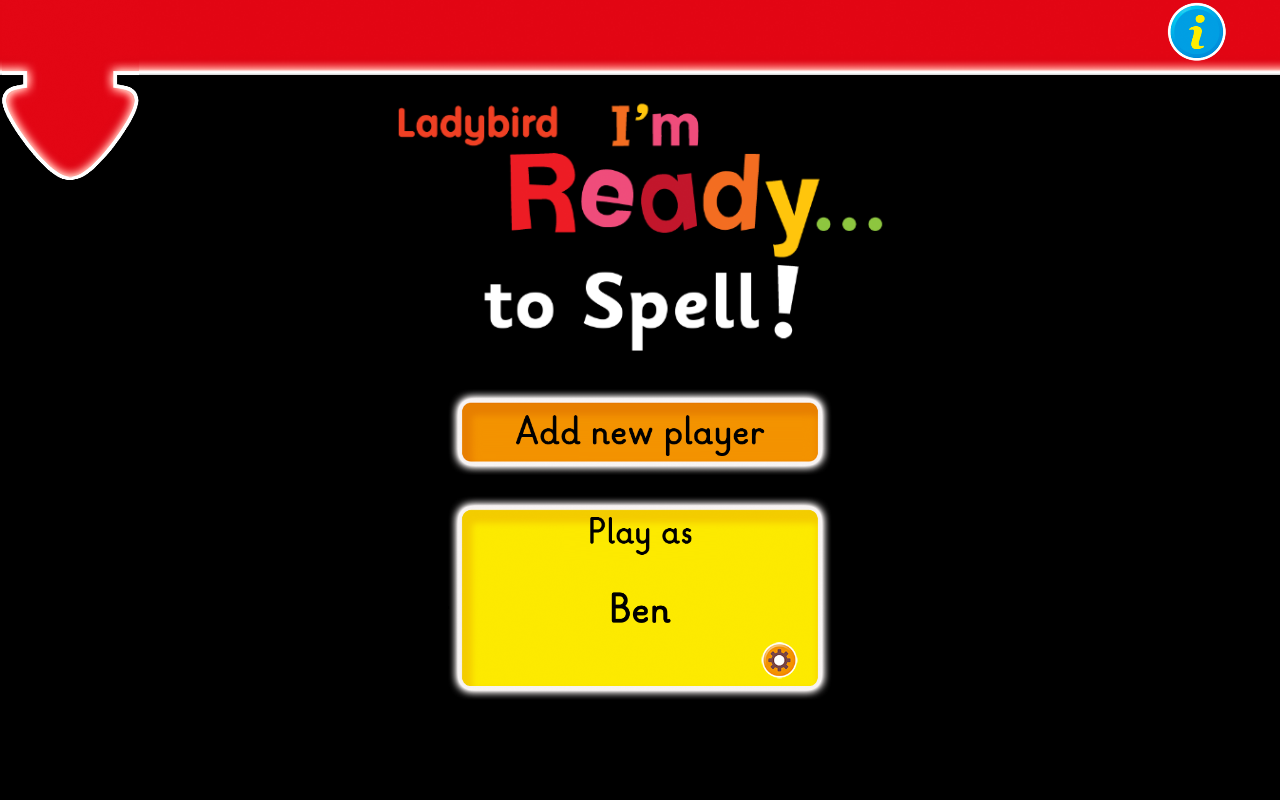 Ladybird: I'm Ready to Spell!- screenshot