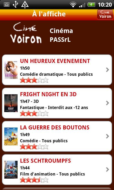 Ciné Voiron- screenshot