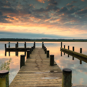 The Peaceful Patuxent by Cindy Hartman - Landscapes Waterscapes ( pg country, magruder, magruders landing, maryland, patuxent, patuxent river, river,  )