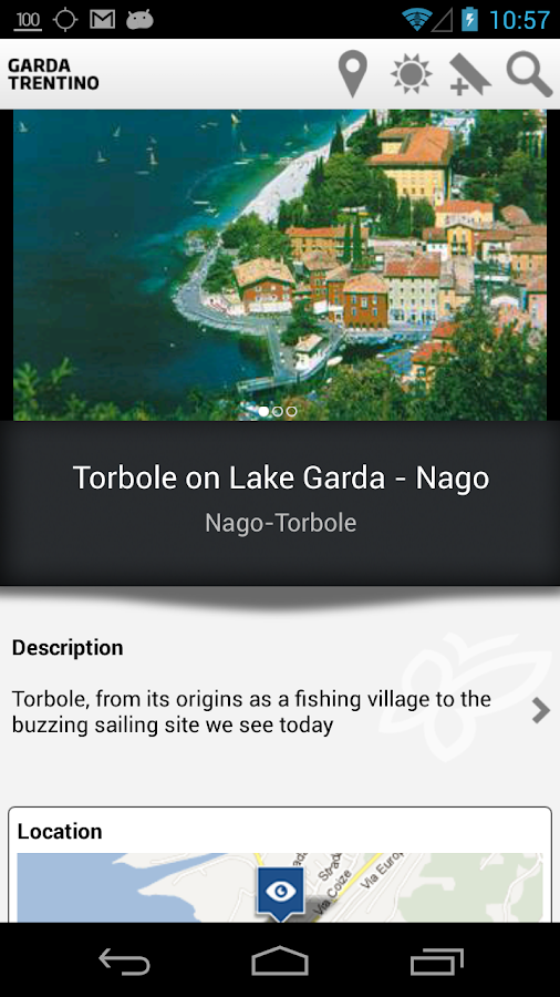 Lake Garda Trentino Guide- screenshot