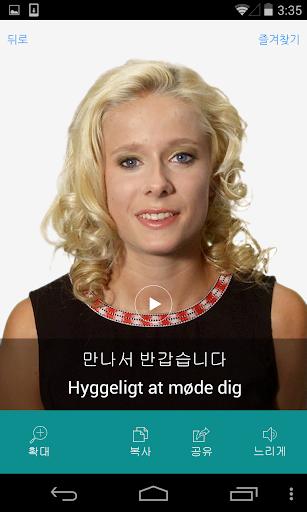 덴마크어 비디오 사전