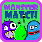 Preschool Monster Match Free