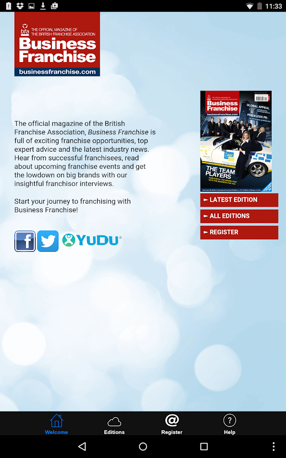Business Franchise magazine - Android Apps on Google Play