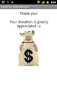 Baby Monitor Donation- screenshot thumbnail