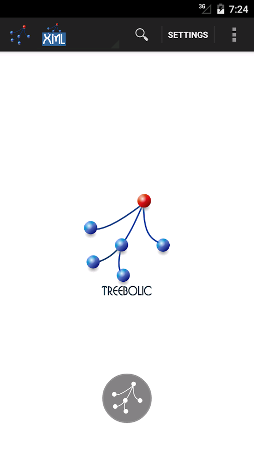 Treebolic- screenshot