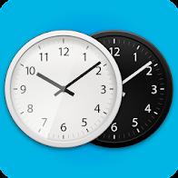 Me Clock widget-Analog&Digital