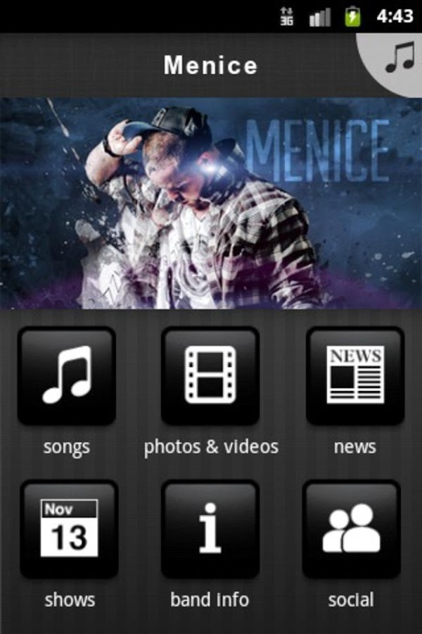 Menice - screenshot